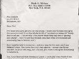 Mark Meltzer Writings: Days 110-120
