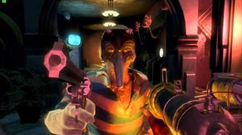 Луи МакГрафф Bioshock 2 Multiplayer Диалог