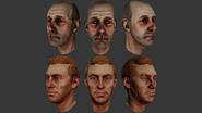 Male Head Evolution 1