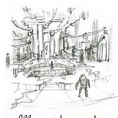 <i>Ilustración conceptual de Rapture.</i>