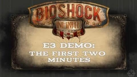 BioShock Infinite Two Minutes of Gameplay Trailer