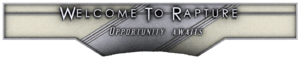 Welcome to Rapture Sign