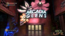 BS1 Arcadia glens entrance
