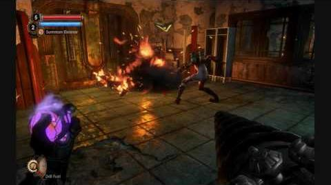 BioShock 2 - Eleanor Fighting Herself