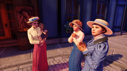 Burial at Sea Episode 2 Paris Scripted Events 'mother'