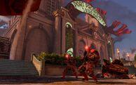 BioI Emporia Port Prosperity Station Exterior Vox Populi Soldiers