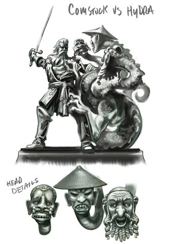 File:Comstock vs The Hydra Statue Concept.jpg