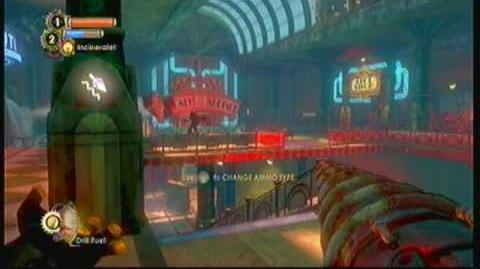 Bioshock 2 The big sister fight 1