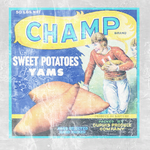 Bio Unused Champ Brand Poster