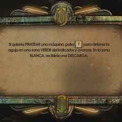 Piratear máquinas en BioShock 2.