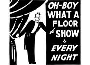 What A Floor Show Clip Art