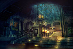 BioShock Train Station Concept Art