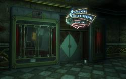 Cohen's Collection Entrance