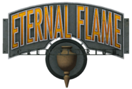 Eternal Flame Crematorium Sign