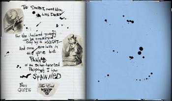 Lutwidge journal last