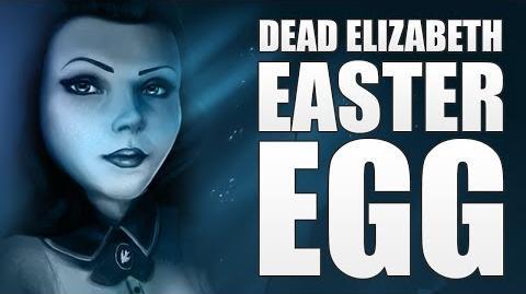 Bioshock Infinite Burial at Sea Episode 2 - Dead Elizabeth Easter Egg