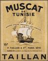 Muscat de Tunisie wine label.png