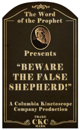 Beware the False Shepherd