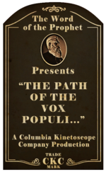 Kinetoscope The Path of the Vox Populi