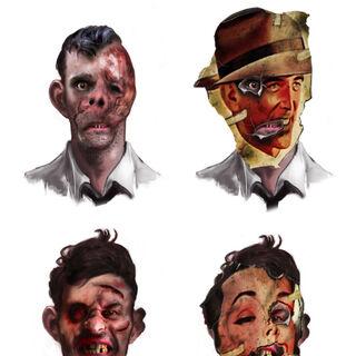 <i>Las caras de la decadencia adictiva.</i>