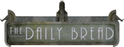 The Daily Bread sign