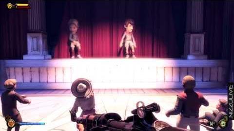 BioShock Infinite Kids Watch Dimwit & Duke on Stage Soldier's Field