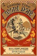 Mont Dore label