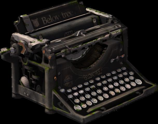 File:Below Tree Typewriter Model Render.png
