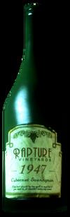 Cabernet bottle