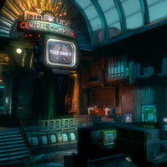 Sector del Computador central de Rapture.