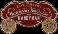 Handyman Fairgrounds sign