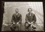 Albert Stewart Warnkin & Adolf Gustave Beutler Mugshot