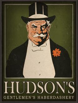 Hudson's Advertisement