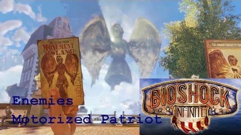 Bioshock Infinite - Enemy - Motorized Patriot