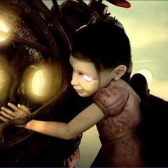 Little Sister en el segundo tráiler de BioShock.