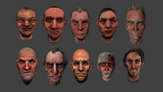 Stylized Faces 3