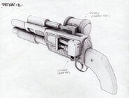 BioShock Shotgun Concept Art8