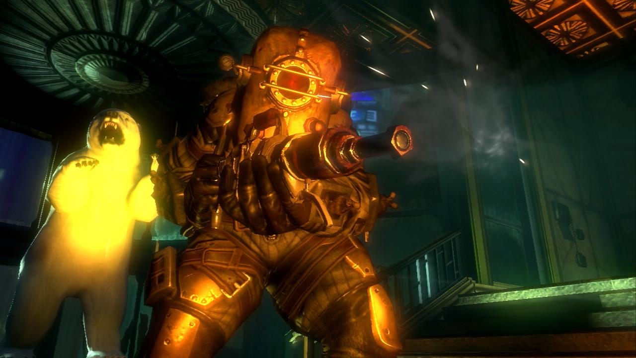 Big daddy suit bioshock wiki fandom powered by wikia - Bioshock wikia ...