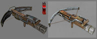 Crossbow Model & Concept Art