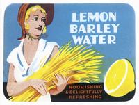 Lemon Barley Water ad