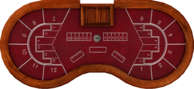 Pharaoh's Fortune baccarat table