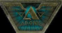 Adonis Luxury Resort Sign