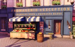 BaSE2 Paris Fromagerie d'Exception Exterior