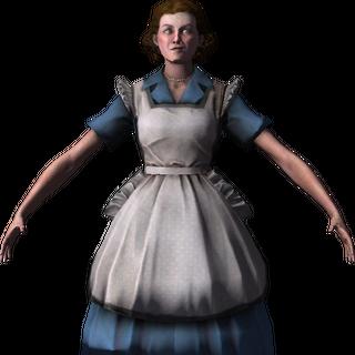 <i>Modelo de Barbara Johnson previo a la recombinación, visto dentro del multijugador.</i>