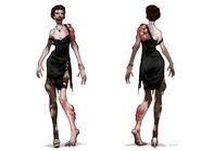 BioShock 2 Baby Jane Splicer Concept Art