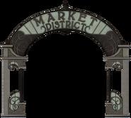 Market District sign
