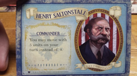Henry Saltonstall BioShock Infinite The Siege of Columbia Leader Card