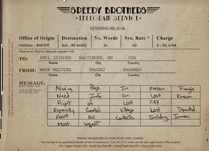 Speedy brothers card