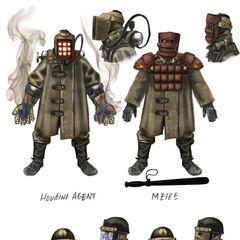 <i>Ilustración conceptual de las fuerzas armadas de Ryan.</i>