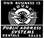 Public Address System clip art